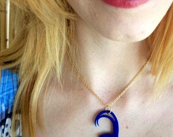 Blue Loki necklace
