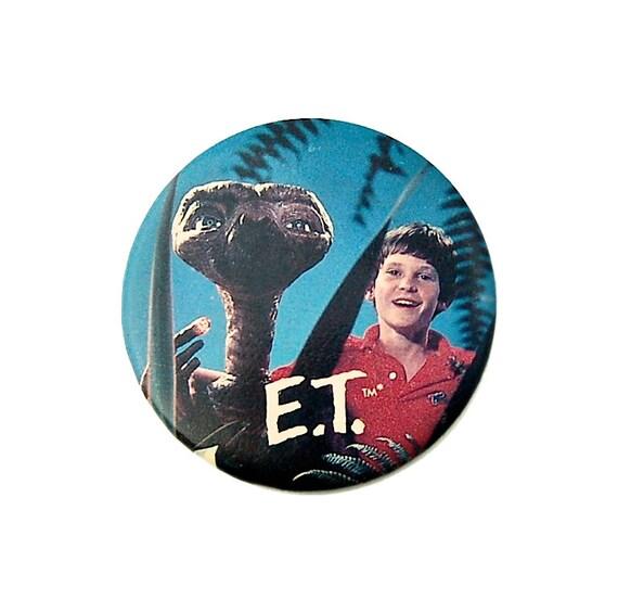 1980s E.T. Badge