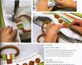 """Craft Book - """"Stamping Effects in Polymer Clay"""" - a step-by-step book by Sandra McCall"""