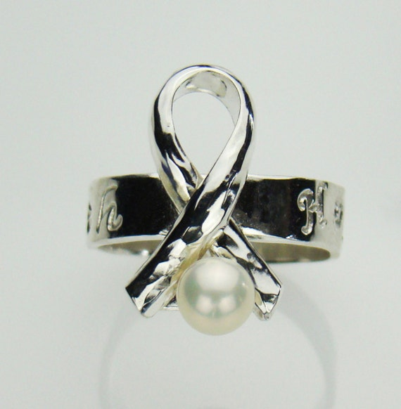 Lung Cancer Awareness Rings