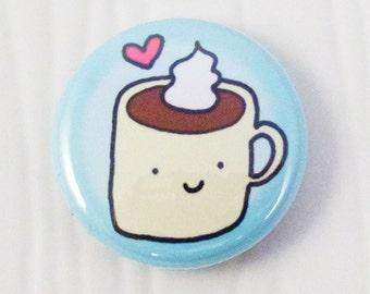 Hot Cocoa Love Button