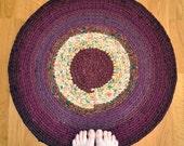 Crochet Area Rug - Harvest Sun