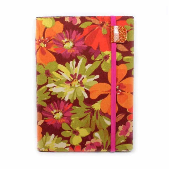 cute Kindle Touch Cover - Retro Floral - fits Kindle Paperwhite