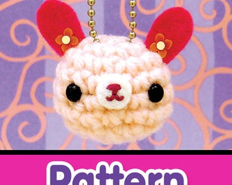 Amigurumi Kingdom Bunny Rabbit Keychain Crochet Pattern