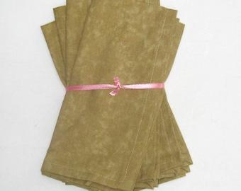 Beige Cloth Napkins Set of 4