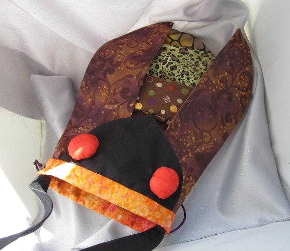 Cicada Novelty Knitting Project Purse