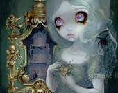 Miss Havisham charles dickens gothic bride fairy art print by Jasmine Becket-Griffith 8x10