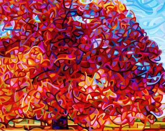 Abstract Fine Art Print - The Buddha Tree