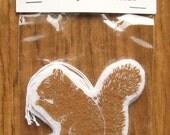 NEW felt ornament squirrel tags