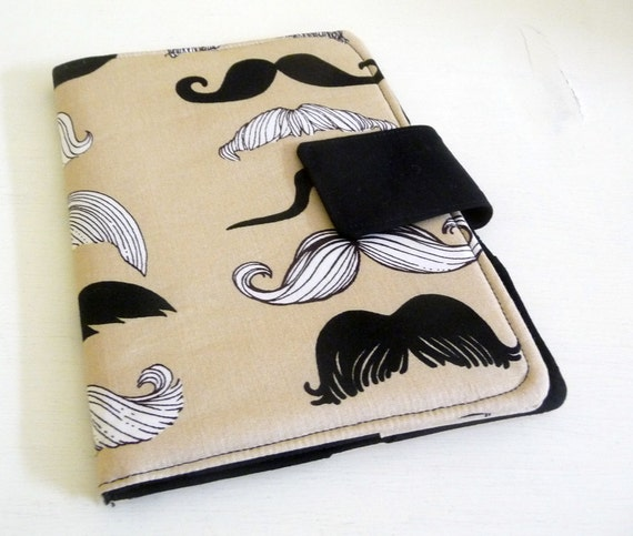 Kindle Touch Cover, Kobo Case - Moustache, Mustache