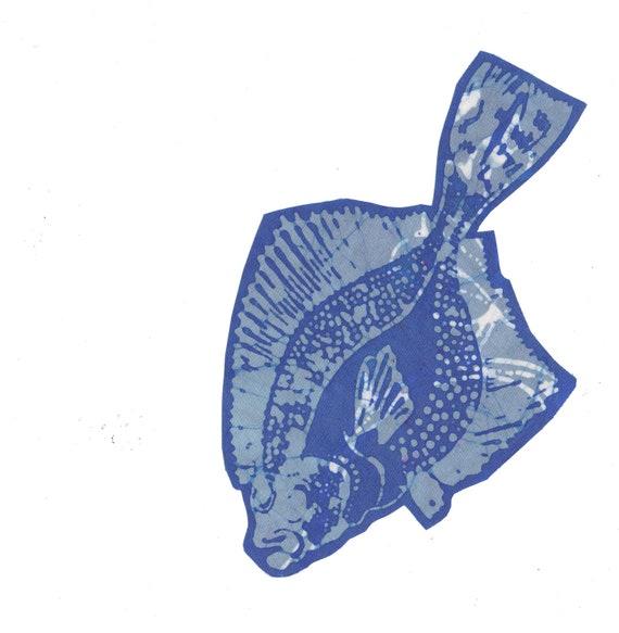 blue flounder patch