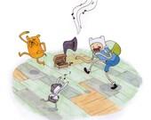 The Jiggler Adventure Time Print