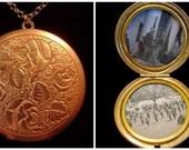 Eternal Love - Vintage Locket Necklace