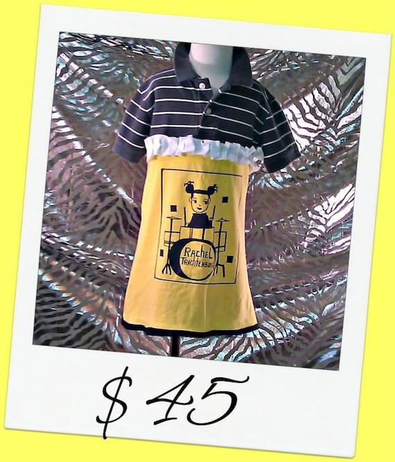 Short Sleeve Polo Dress Size 5/6