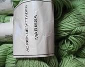 Adrienne Vittadini Marissa yarn Lime Green DK weight