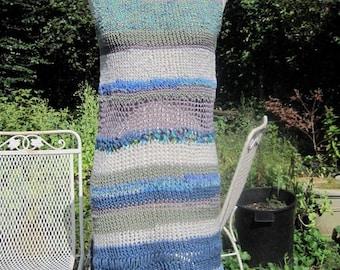 beachy hand knit dress