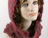 Digital PDF Crochet Pattern for Bobbles and Chains Hooded Cowl - DIY Fashion Tutorial - Instant Download - ENGLISH only