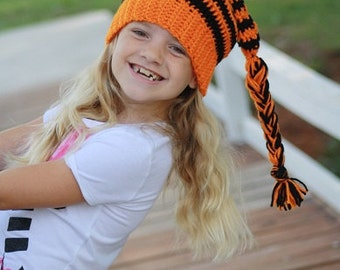 PDF Crochet Pattern for Elf Hat for Baby and Toddler