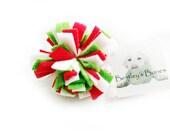 Fleece Dog Ball - Tini - Merry Christmas