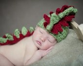 newborn baby hat photography prop crochet dragon hat
