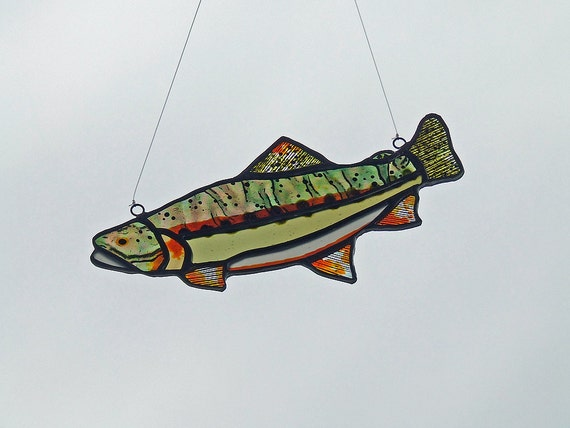 Stained Glass Trout