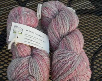 80/20 Shetland/Nylon Blend Handspun Yarn