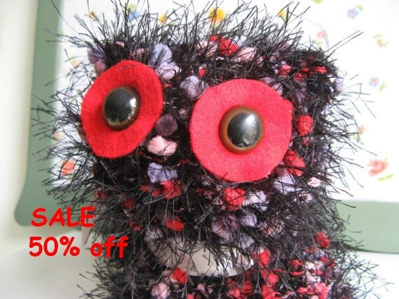 SALE 50% off cute handknitted Kitty Cat