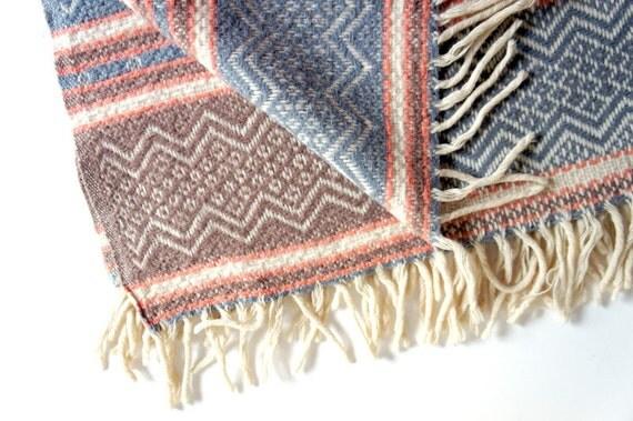 RESERVED for Nikki // Vintage Faribo Throw Blanket // Wool