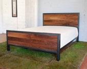 Kraftig Bed Number 3 with Walnut