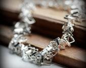 Square links - bracelet