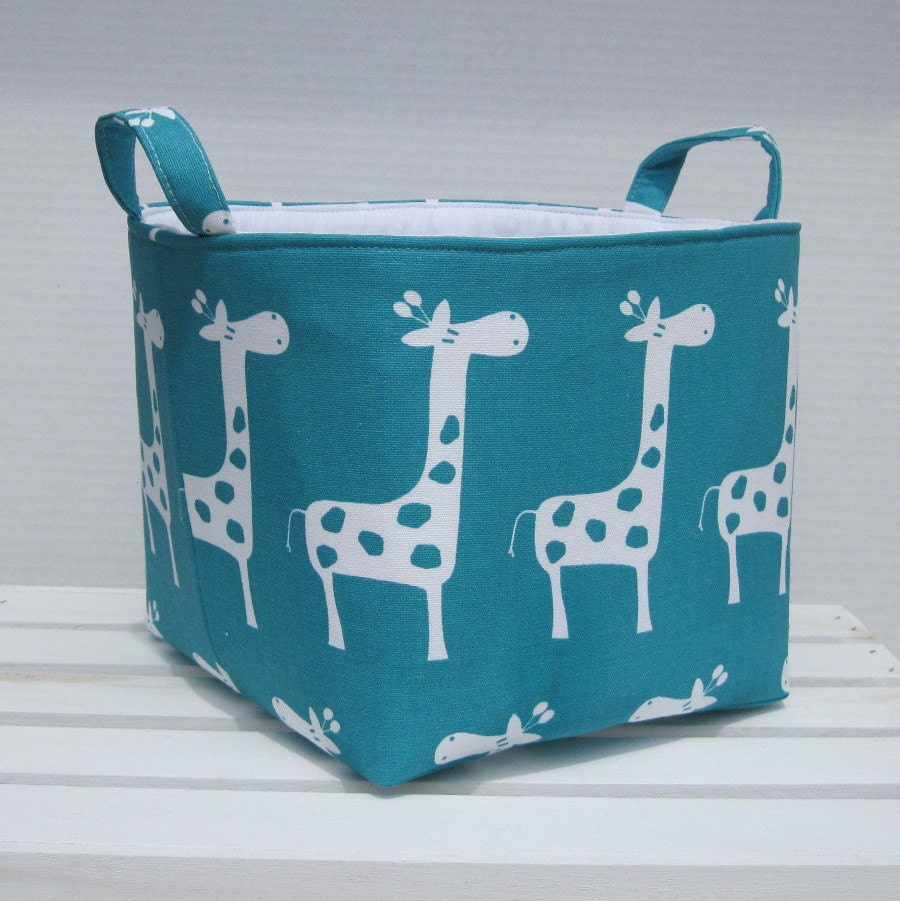 Fabric Organizer Bin Toy Storage Container Basket by BaffinBags