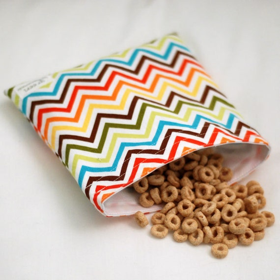 Zig Zag  - green by mamamade Eco-Friendly Reusable Sandwich Bag