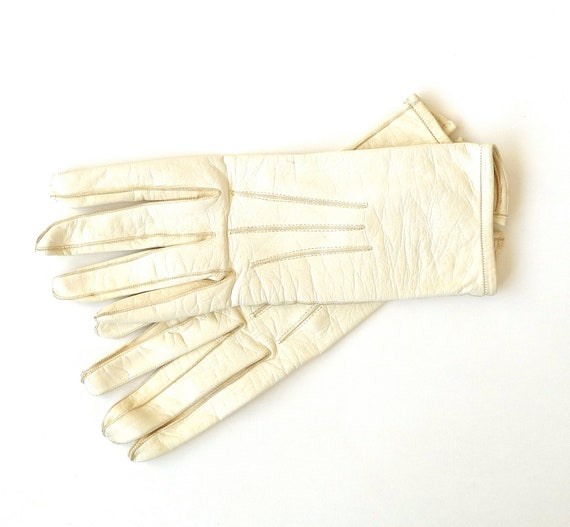 Ivory Kid Gloves Made in France