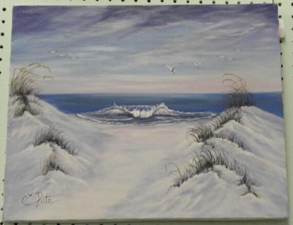 Beach inspired art | Etsy  |Beach Inspired Art