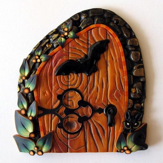 Bat Fairy Door