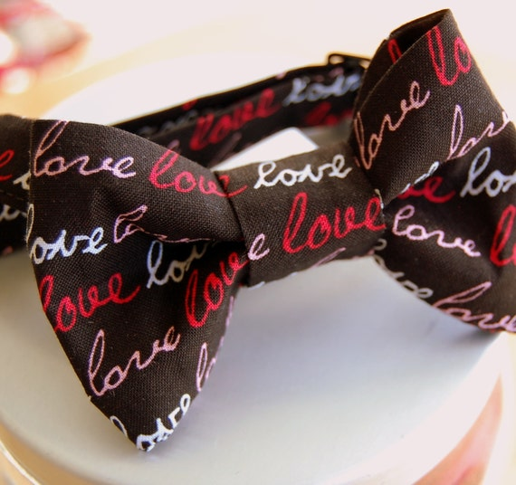 Valentine's Day kids, boys bow tie