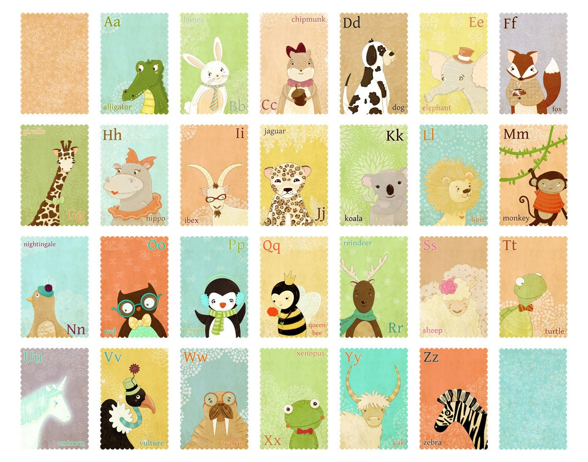 Dorable Etsy Childrens Wall Art Photo - The Wall Art Decorations ...