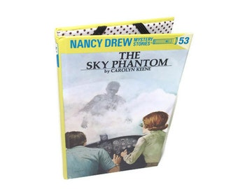 Cover for Kindle Nook or Kobo, Nancy Drew Tablet Device Case, Sky Phantom, Reader EReader
