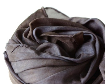 Solid Black Play Silk : BOO (Natural and Open Ended Toy or Cape)