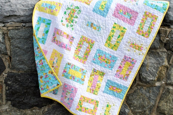 Baby Quilt Or Toddler Quilt Pattern Also For Sale