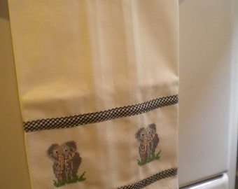 Elephant Kitchen Towel