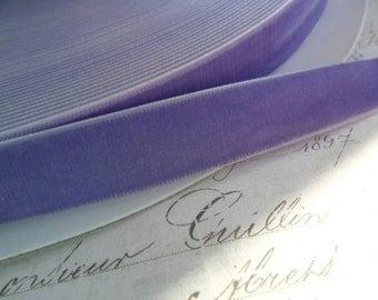 5/8 inch  Violet Velvet Ribbon
