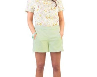 Colette Sewing PATTERN - Iris - Shorts