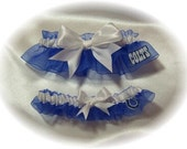 Indianapolis Colts Wedding Garter Set   Handmade  Keepsake and Toss rww