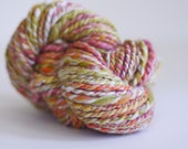 Bunny Love Collection Hand Spun Yarn -  Coralbells