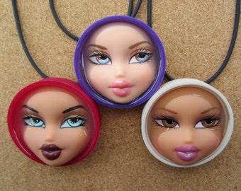 Sale item- BRATZ doll Pendant - Purple