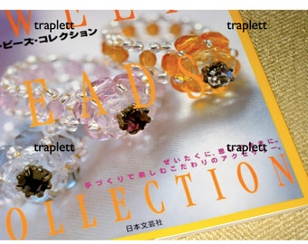 Japanese Pattern Book  BEADING Jewelry