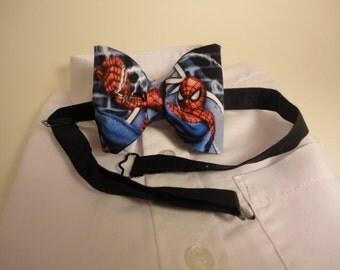 Bow tie Spiderman adjustable, DC Comics