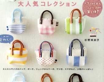 Komihinata's Small Handmade Most Popular Items Collection - Japanese Craft Book