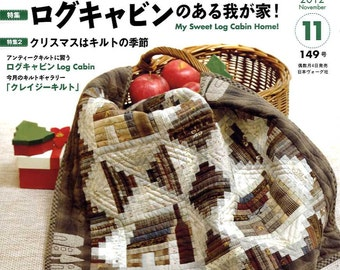 QUILTS JAPAN November 2012 Vol 149 - Japanese Craft Book
